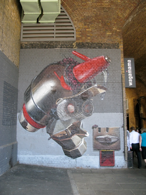 bankside robot, london
