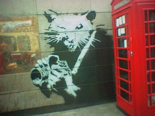 banksy camera rat