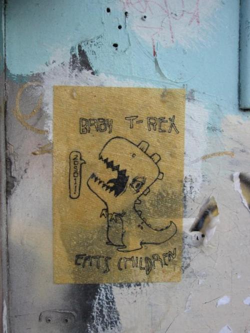 zoso - baby t-rex eats kids