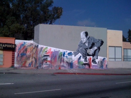 mr brainwash - jackson pollock