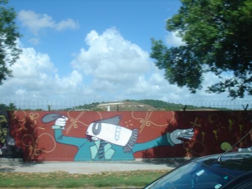 recife mural, brazil