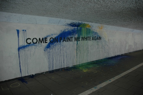 mobster, paint me white again (collaboration with newcastle city council)