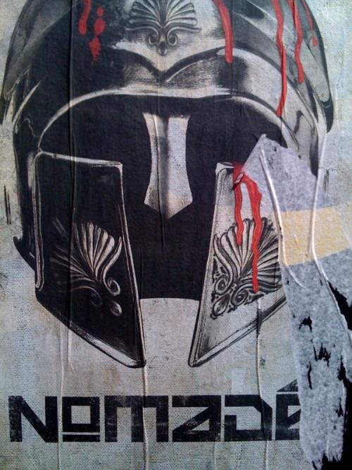 nomade, centurion helmet